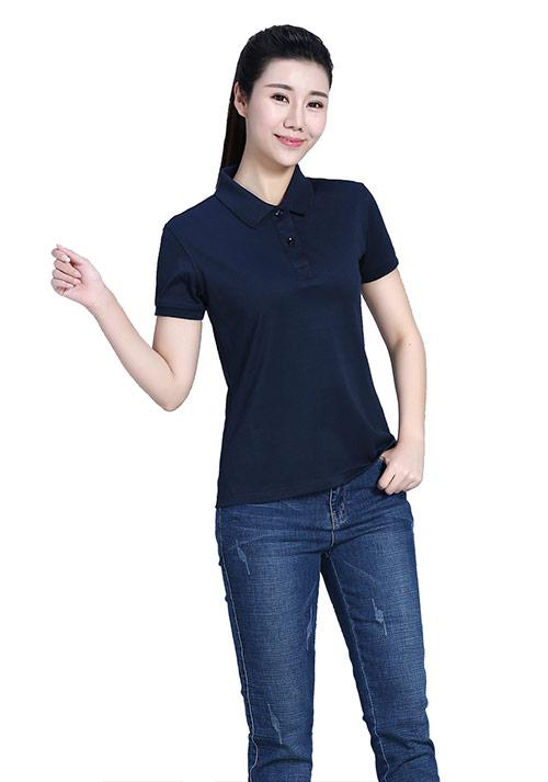 藏蓝短袖T恤