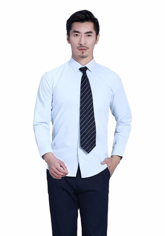 衬衫和领带的搭配手法